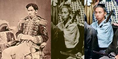 明治天皇とフルベッキ写真
