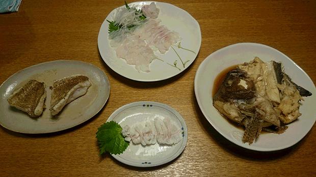 ハタ料理 (3)