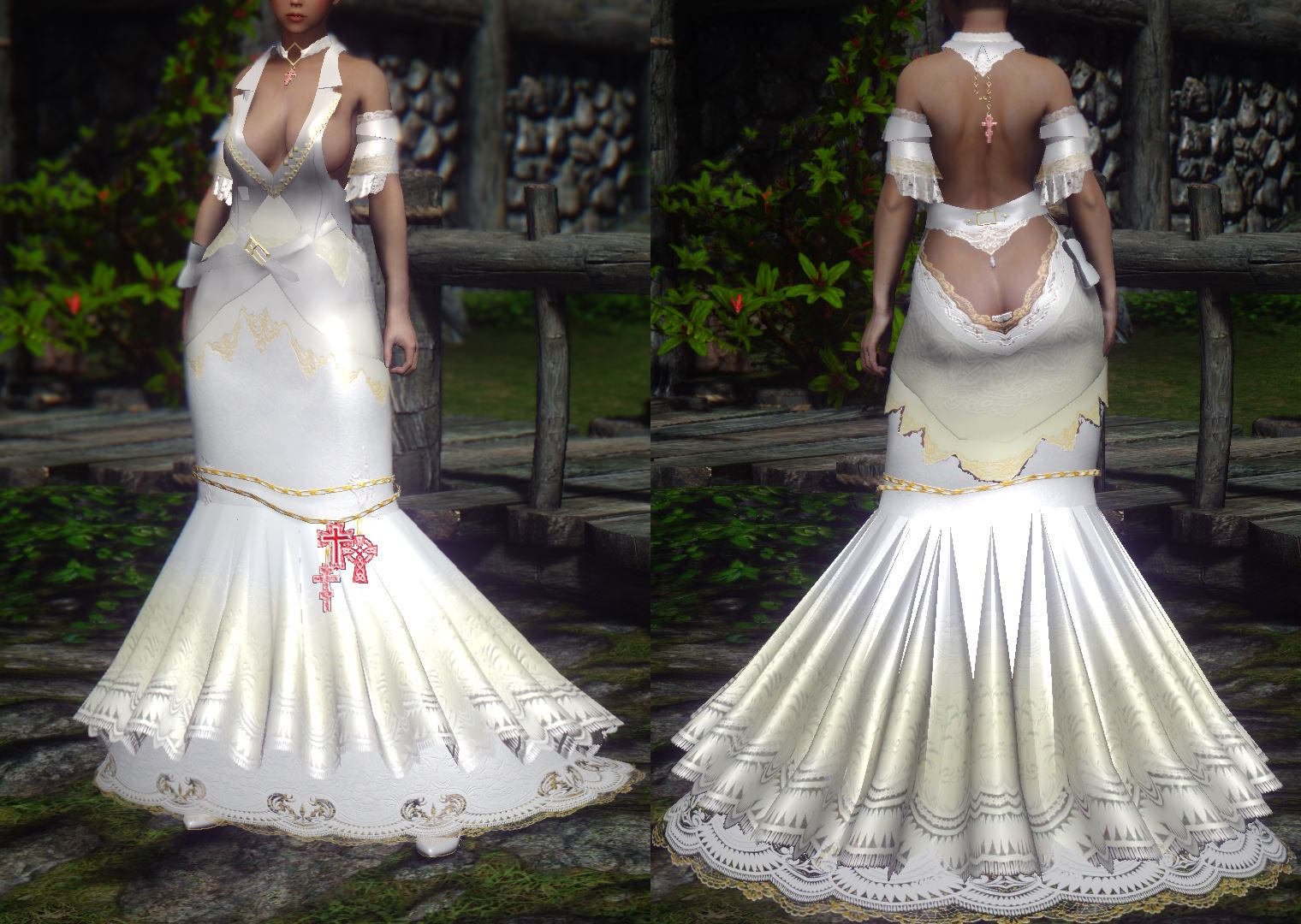 Skyrim Wedding Dress.Anyone Have This Mod Request Find Skyrim Non Adult Mods