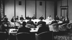 日本のいちばん長い日67 閣僚会議