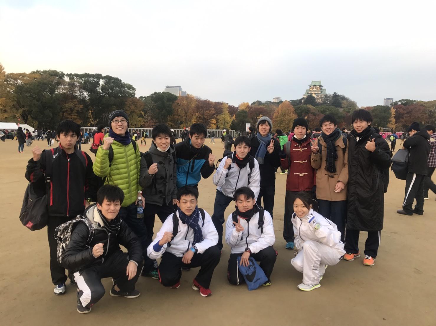 大阪マラソン朝