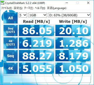 s_フォーマット_SP(シリコンパワー)_MicroSD64GB _ベンチマーク - コピー