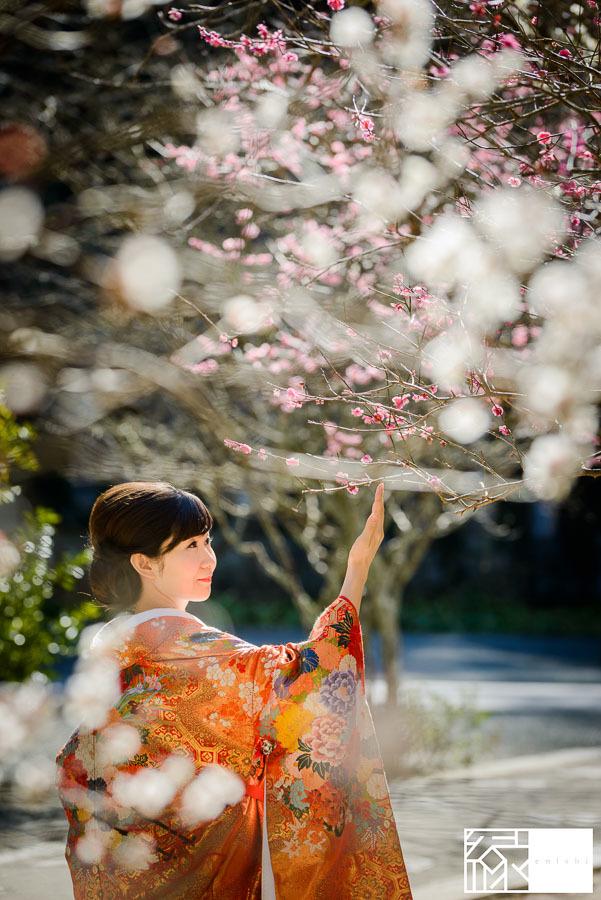 和装前撮り鎌倉新春冬10