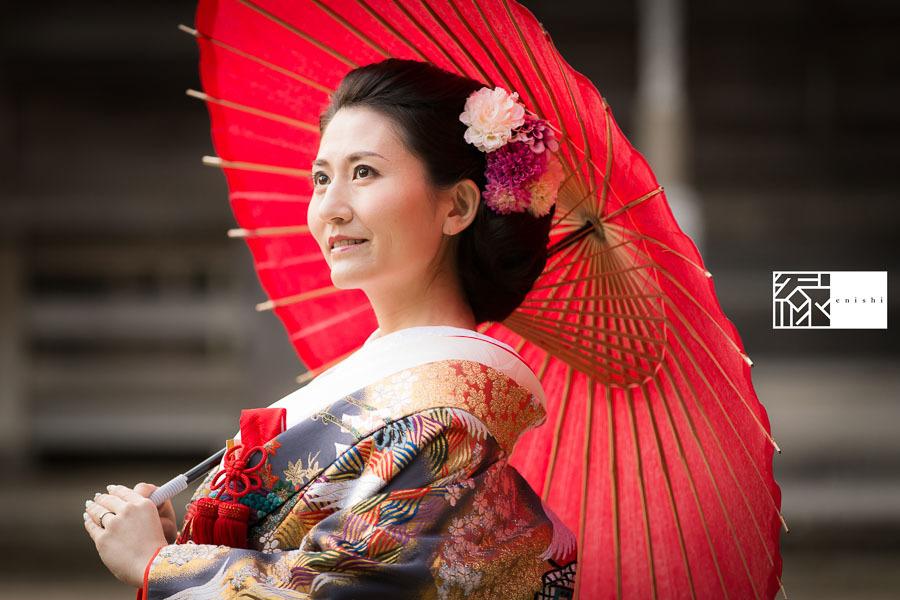 和装前撮り鎌倉新春冬11