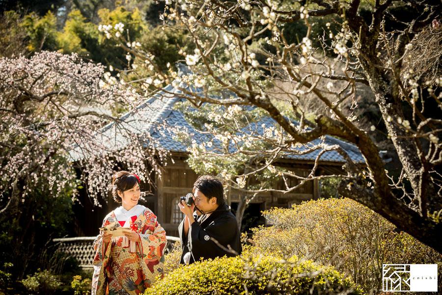 和装前撮り鎌倉新春冬12