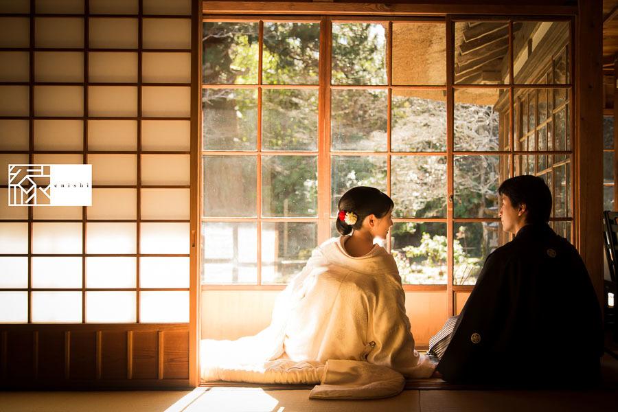 和装前撮り鎌倉新春冬26