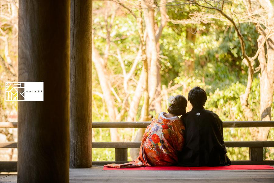 和装前撮り鎌倉新春冬27