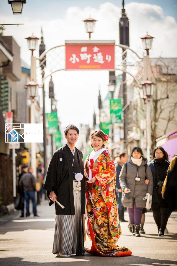和装前撮り鎌倉新春冬28