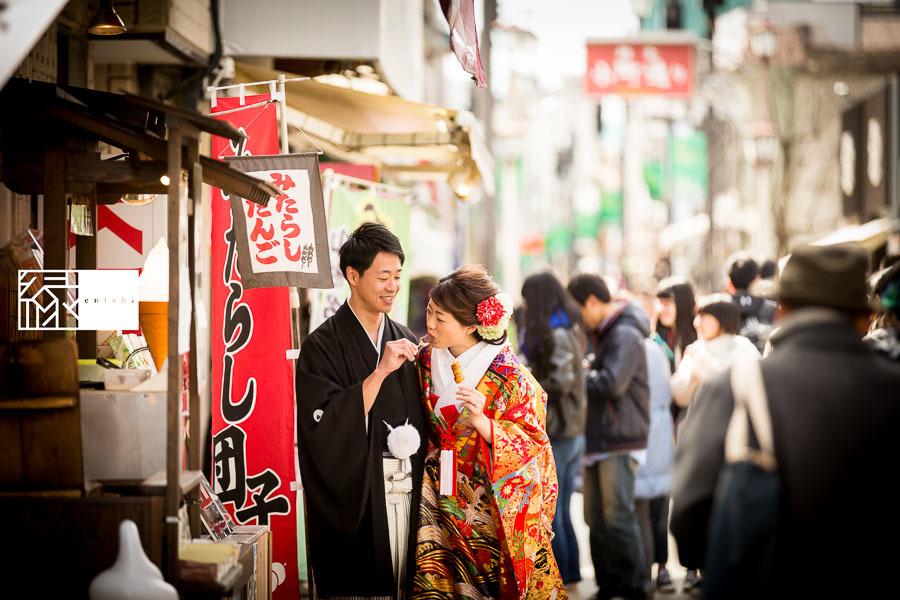 和装前撮り鎌倉新春冬31