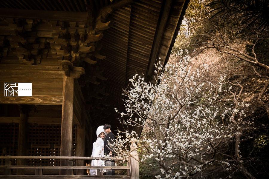 和装前撮り鎌倉新春冬35