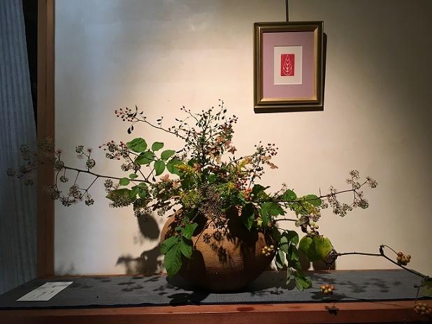 篆刻 個展 お花と印