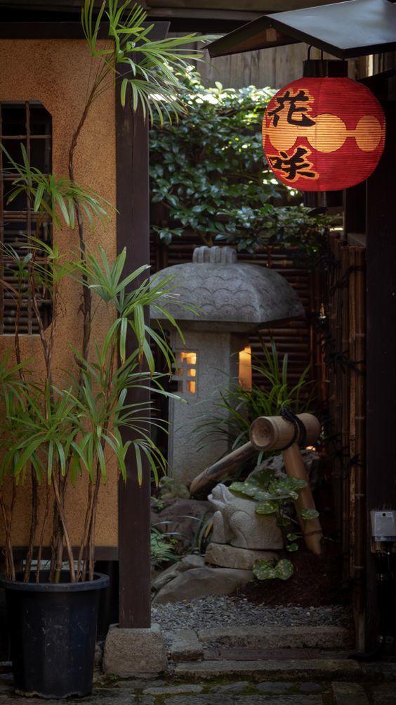 000 和食 料亭の庭 京都