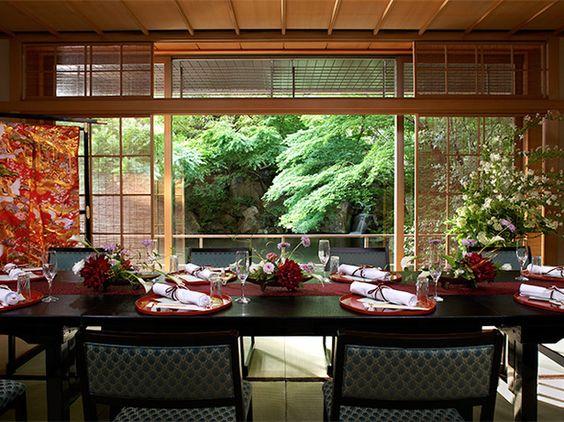 000 和食 「ホテル椿山荘東京」の庭園