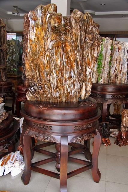 yyyk 硅化木5 China sui 硅化木木化石奇2