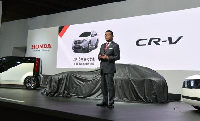 CR-V 日本発売