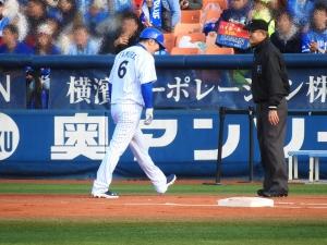 渡田さんも穏やかな表情。