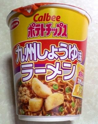 9/18発売 Calbee ポテトチップス 九州しょうゆ味ラーメン
