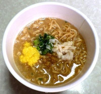 11/20発売 チキンラーメンビッグ 鶏白湯(できあがり)