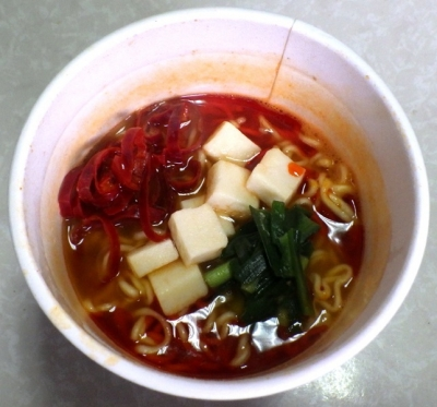 11/20発売 中華三昧 麻辣火鍋拉麺(できあがり)