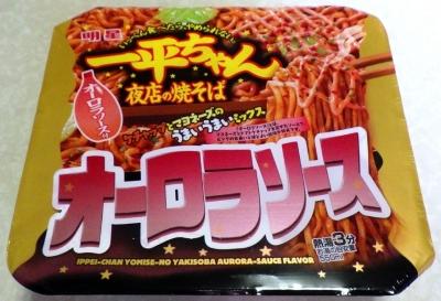 11/6発売 一平ちゃん 夜店の焼そば オーロラソース