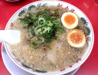 魁力屋 堺新金岡店 特製醤油味玉ラーメン