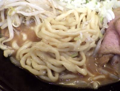 綿麺 フライデーナイト Part138 (17/10/13) 濃厚豚骨味噌ら~めん(麺のアップ)