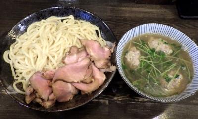 綿麺 フライデーナイト Part141 (17/11/24) あつもり塩つけ麺 団子入り