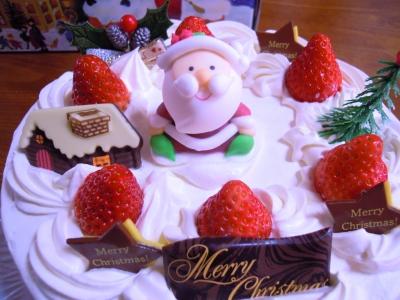 クリスマスケーキ20171223