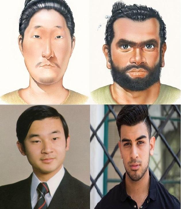 jomon yayoi朝鮮仁平目と日本人の違い