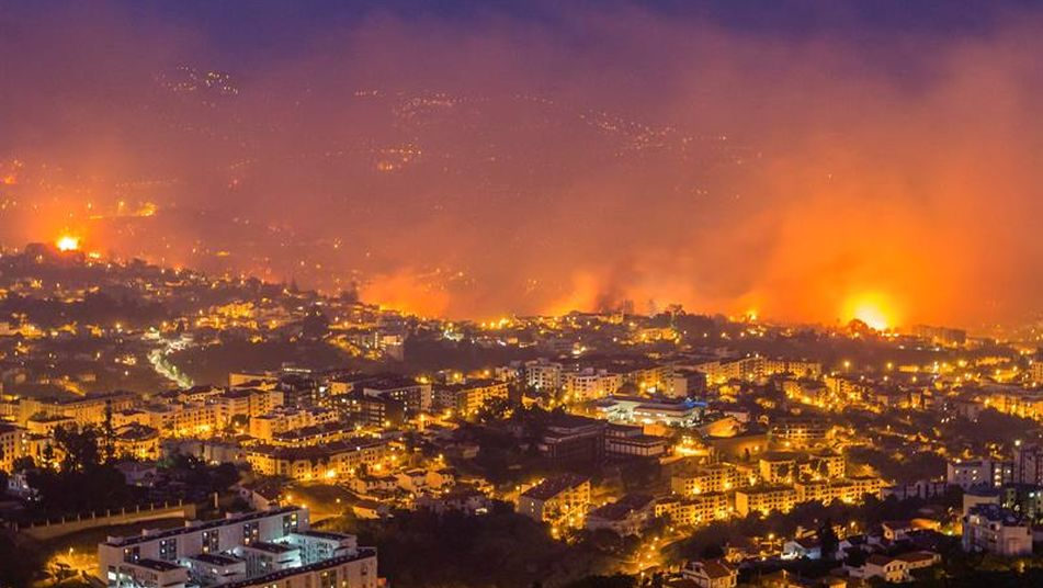 portugalCalifornia wildfires force 200,000 people to flee, destroy
