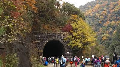 s-トンネル入り口