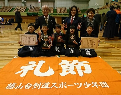 29春日井剣連団体戦低 学年2