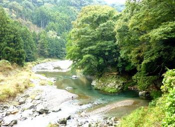高野川の淵
