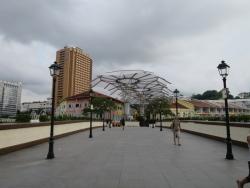 シンガポール シティーホール 散歩