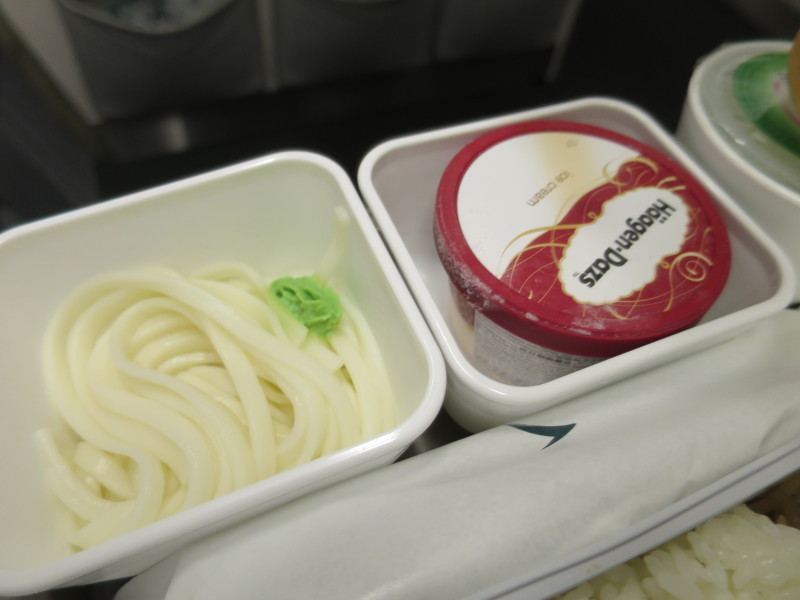 キャセイパシフィック 機内食