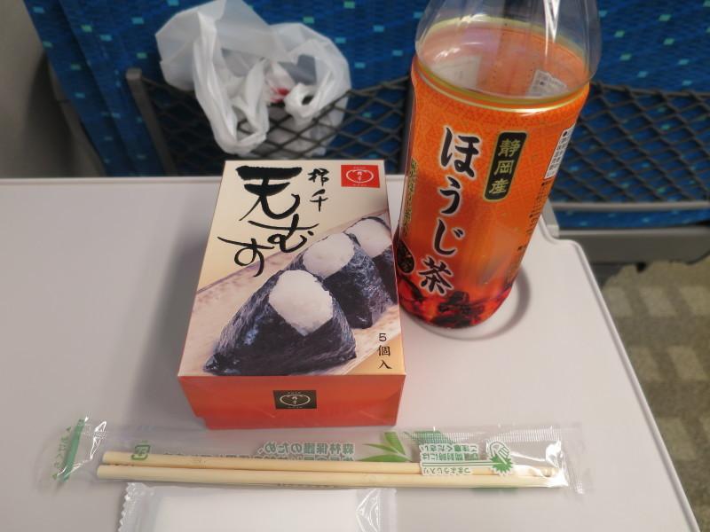 駅弁 天むす 新大阪