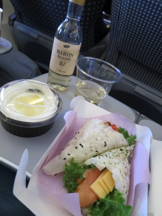 JAL972 機内食