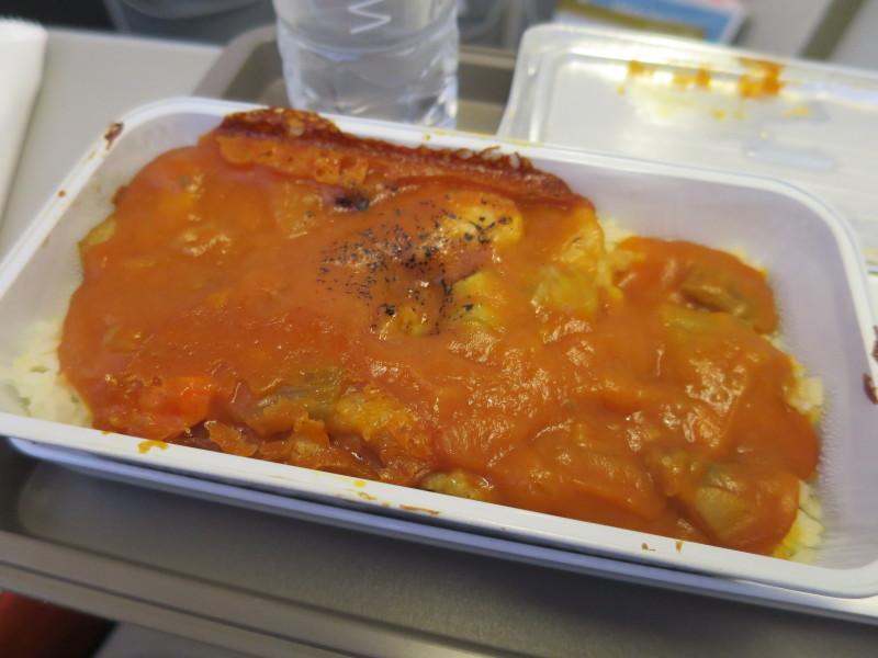 キャセイパシフィック 機内食 おいしい
