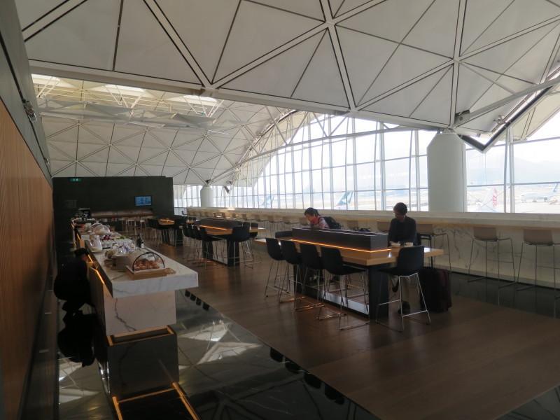 香港空港 キャセイパシフィック ファーストクラスラウンジ The Wing