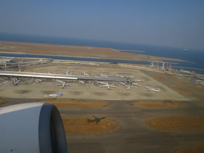 関西-上海 JAL