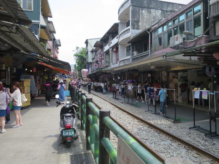 台湾 十分 観光