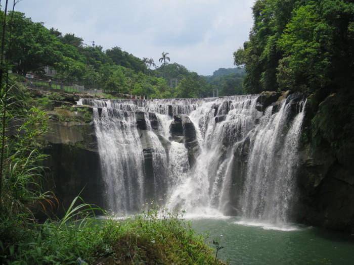 十分大瀑布 台湾