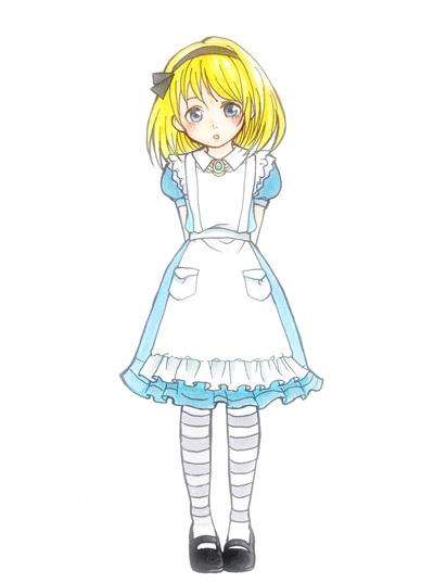 アリスなキャラを描く ゲーム雑談