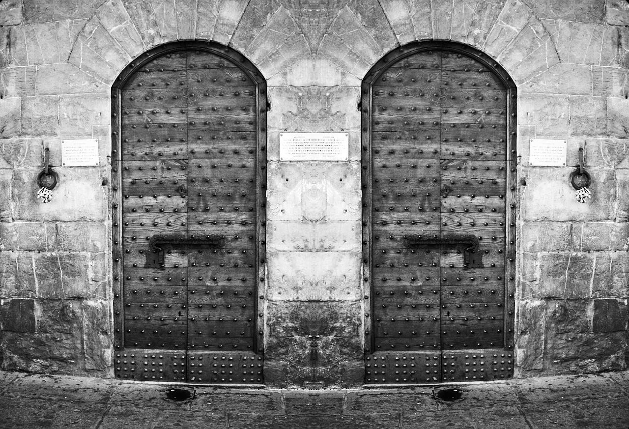 20171031二つのドア