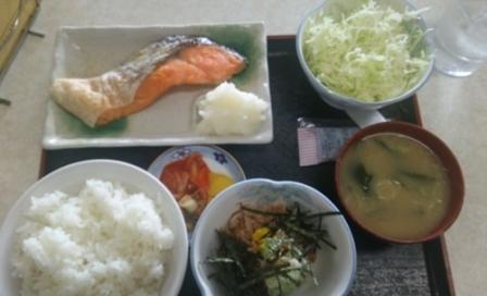 サケ定食1