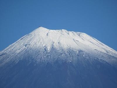 富士山冠雪2