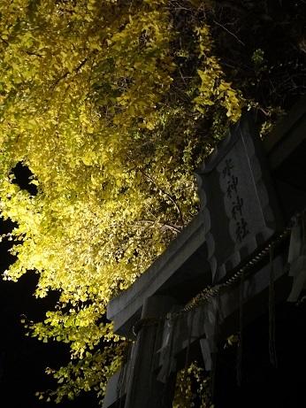 水神社灯り2