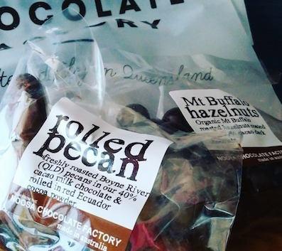 ヨガとチョコレート