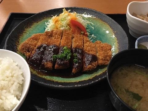トヨタ会館味噌カツ