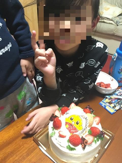 2017みーちゃん誕生日
